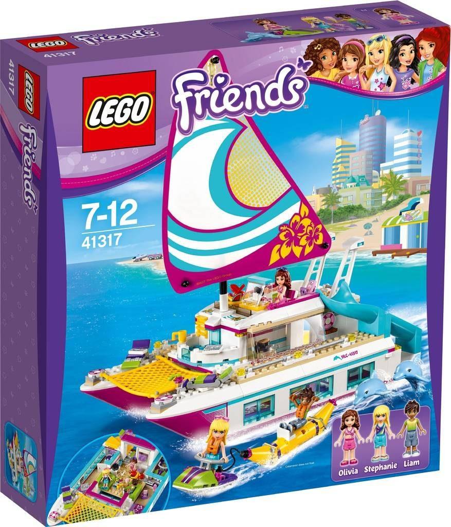 LEGO Friends 41317 Sunshine Catamaran