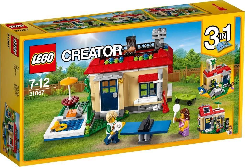 LEGO Creator 31067 Poolside Holiday
