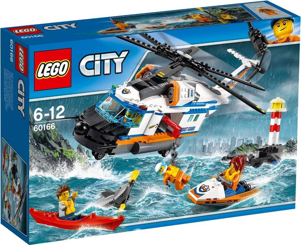 LEGO City 60166 Heavy Duty Rescue Helicopter