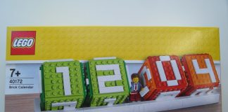 Review LEGO 40172 Brick Calendar