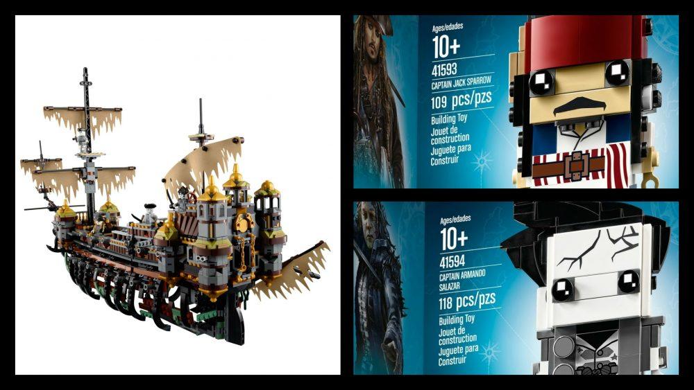 LEGO 71042, LEGO 41593, LEGO 41594