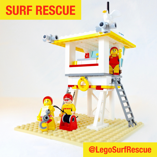 LEGO Ideas: Surf Rescue