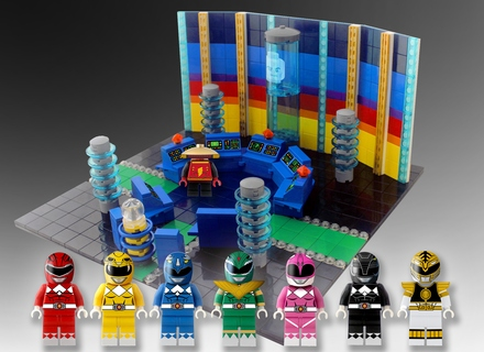 LEGO Ideas: Mighty Morphin Power Rangers