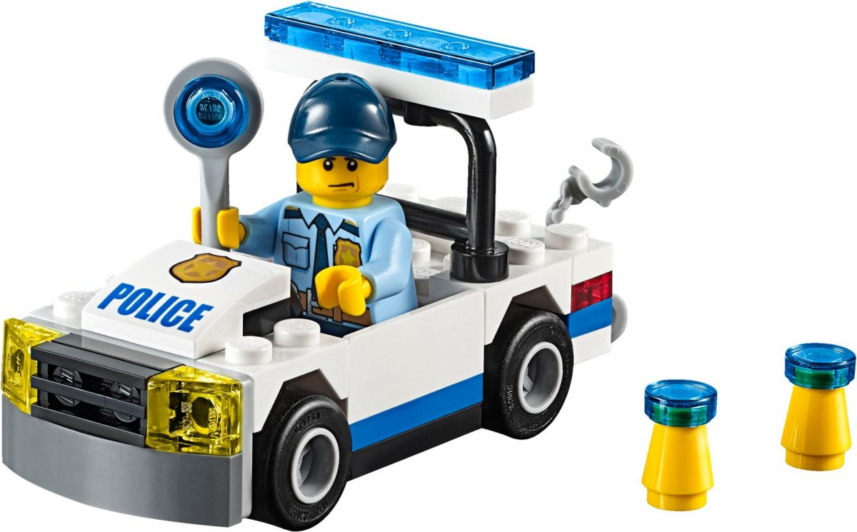 review lego city 30352 police car. Black Bedroom Furniture Sets. Home Design Ideas