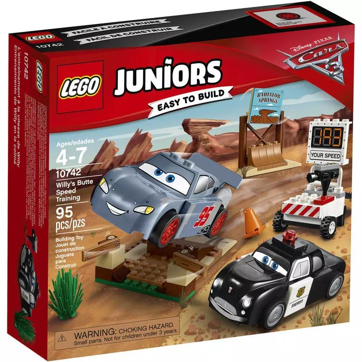 LEGO Juniors Cars 10742 Willy's Butte Speed Training
