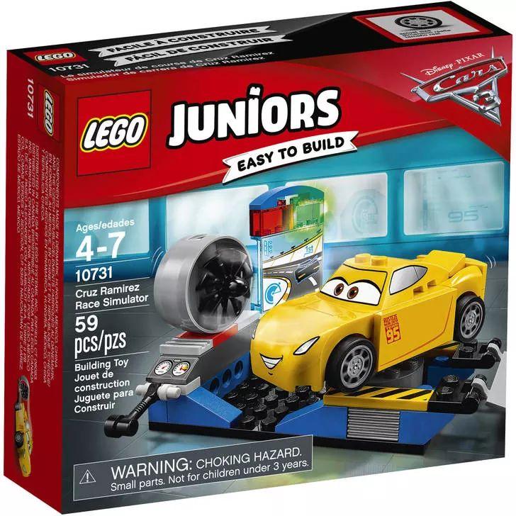 LEGO Juniors Cars 10731 Cruz Ramirez Race Simulator