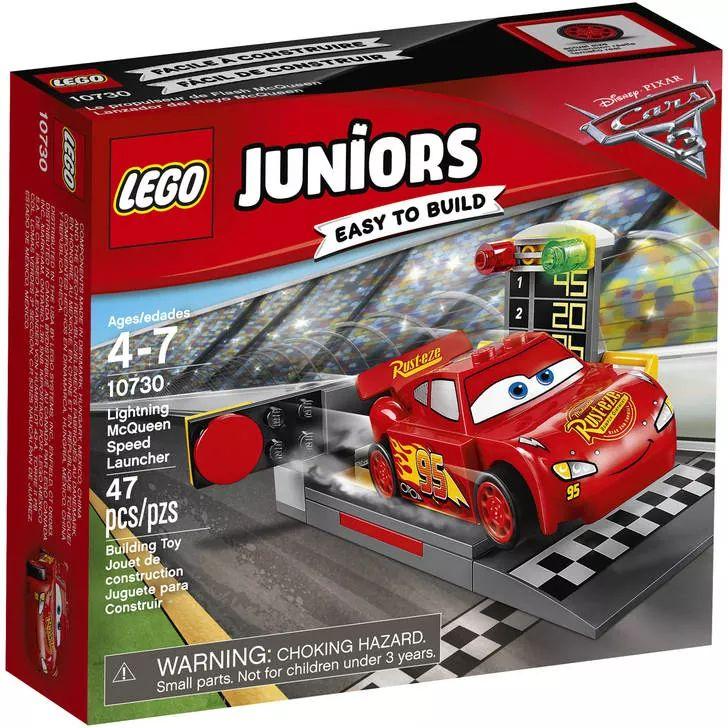 LEGO Juniors Cars 10730 Lightning McQueen Speed Launcher