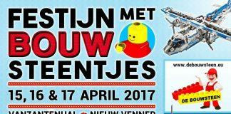 Festijn met Bouwsteentjes, de LEGO beurs in Nieuw-Vennep van 2017