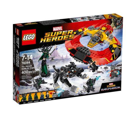 LEGO Marvel 76084 The Ultimate Battle for Asgard