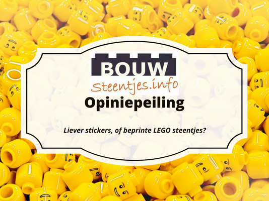 Liever stickers of beprinte LEGO steentjes?