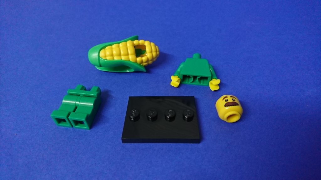 LEGO 71018 CMF series 17 Corn Cob Guy