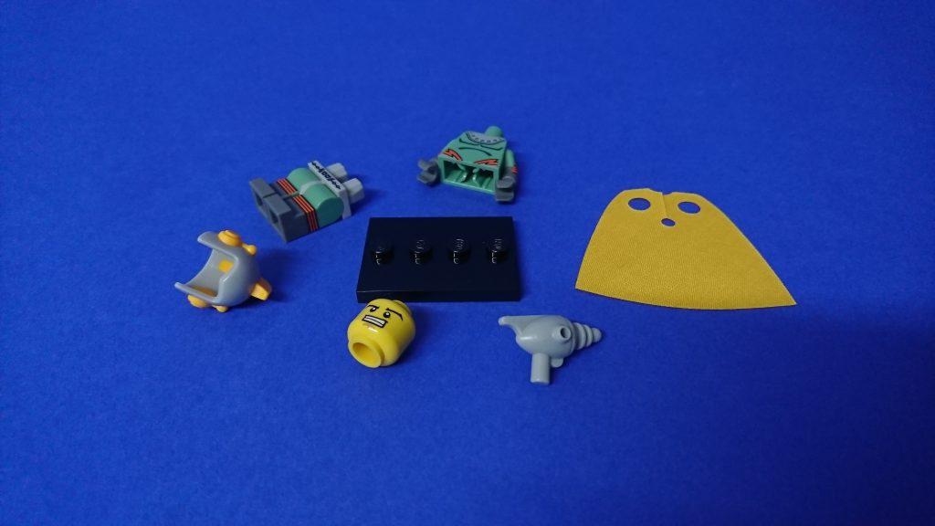 LEGO 71018 CMF series 17 Retro Spaceman