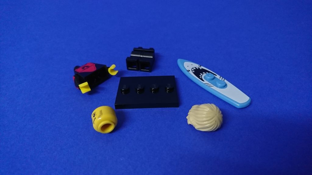 LEGO 71018 CMF series 17 Professional Surfer