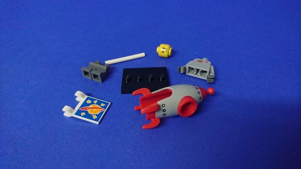 LEGO 71018 CMF series 17 Rocket Boy
