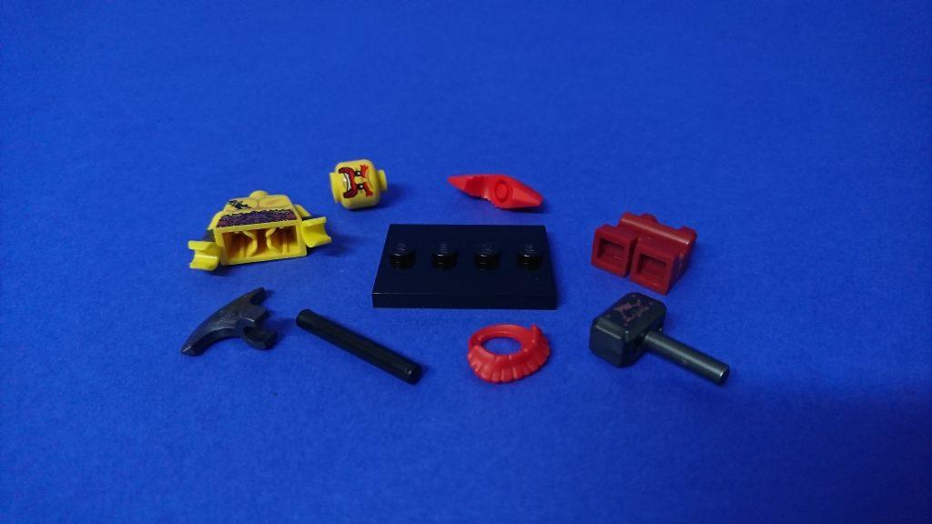 LEGO 71018 CMF series 17 Battle Dwarf