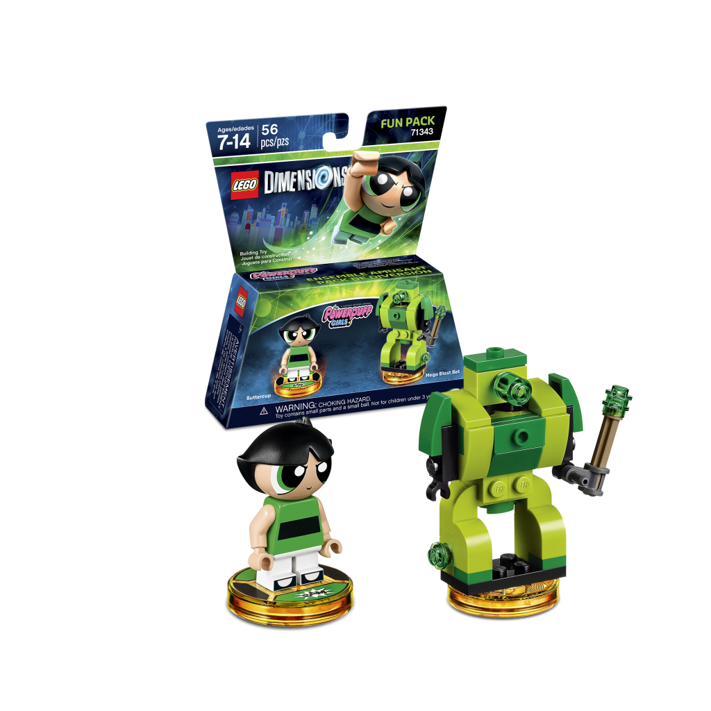 LEGO Dimensions 71343 Powerpuff Girls Fun Pack