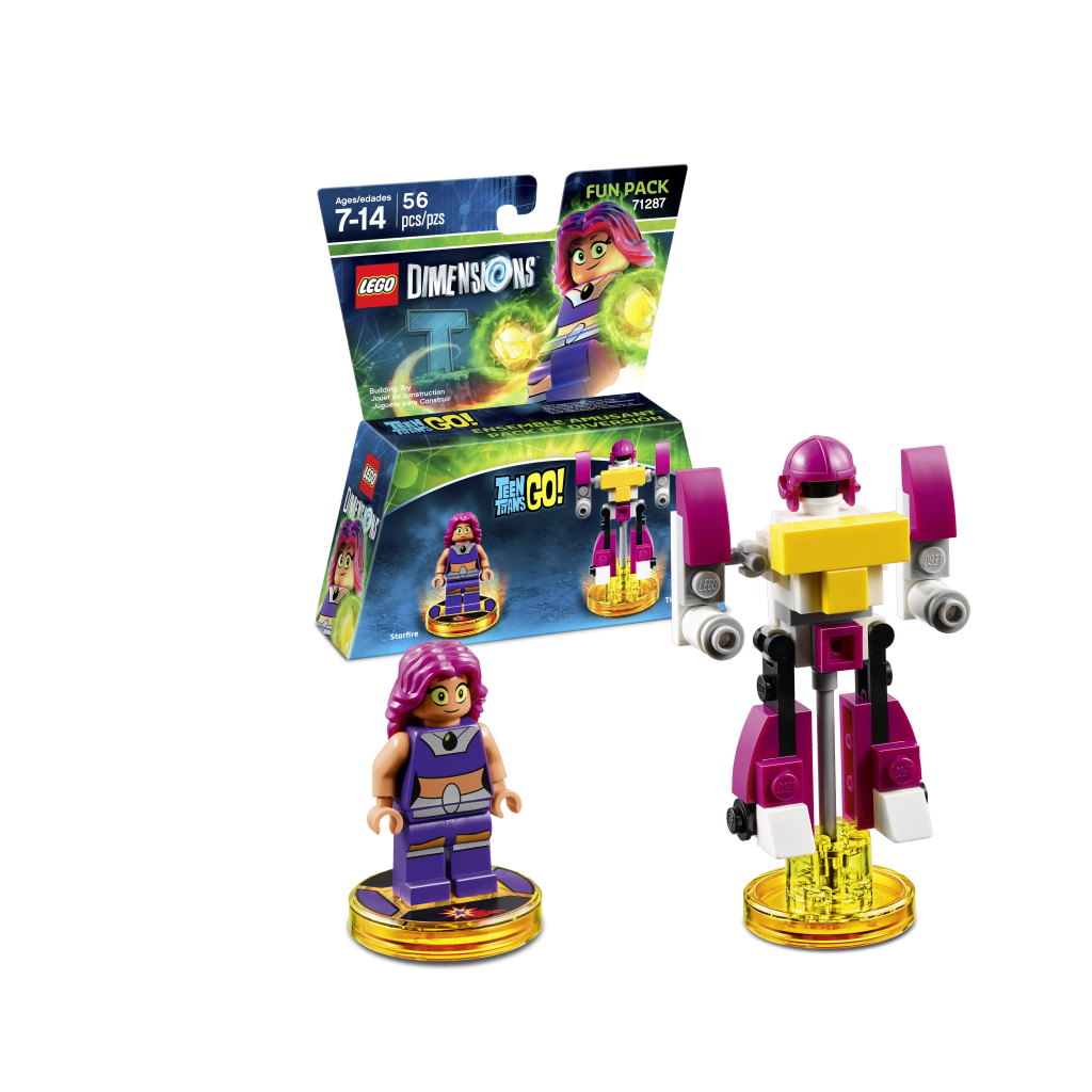 LEGO Dimensions 71287 Teen Titans Go Fun Pack