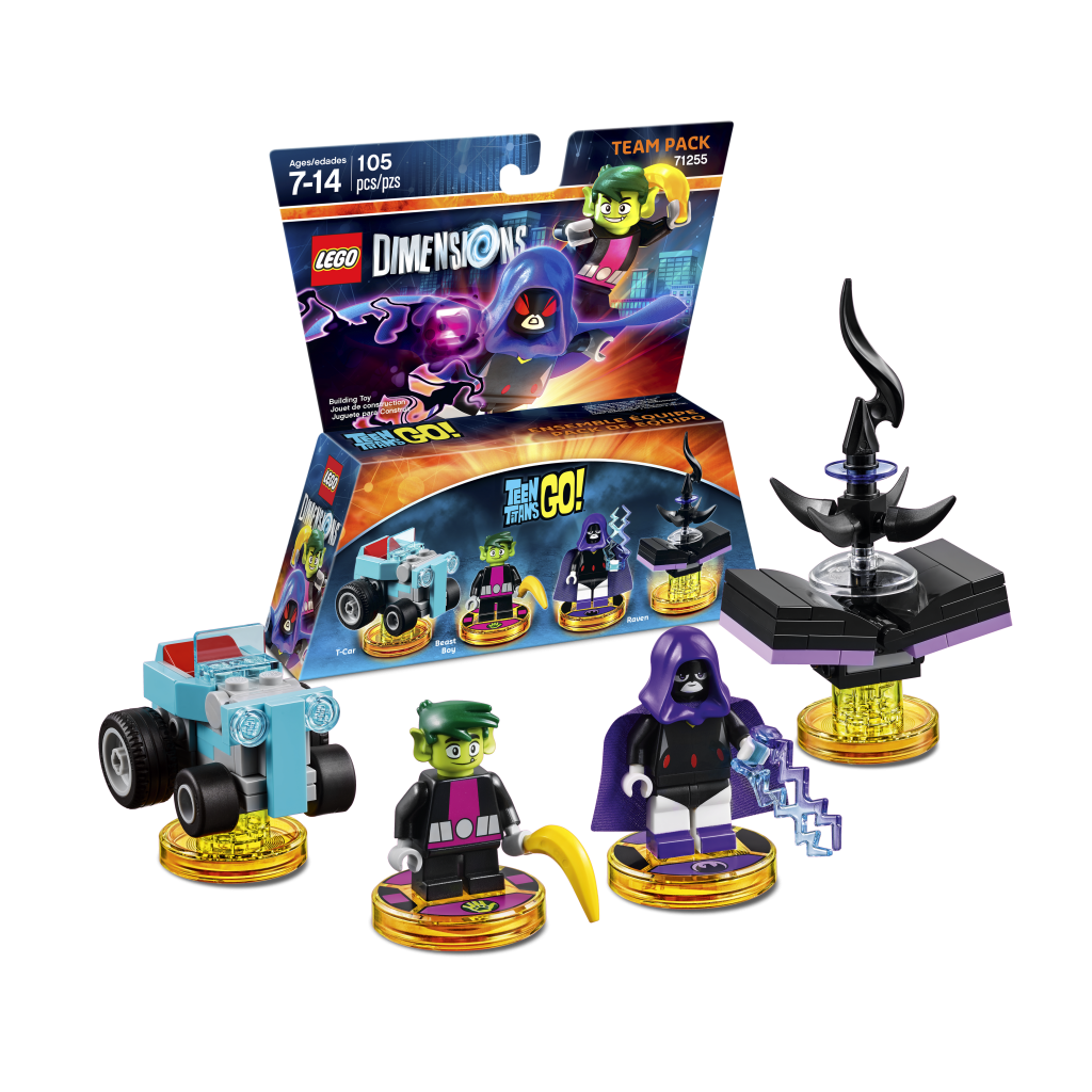 LEGO Dimensions 71255 Teen Titans Go Team Pack