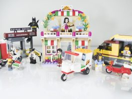 3 in 1 Review: LEGO Pizza Sets