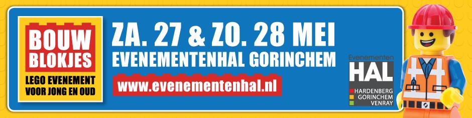 Bouwblokjes evenementenhal Gorinchem 2017