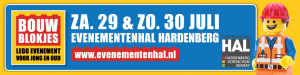 Bouwblokjes evenementenhal Hardenberg 2017