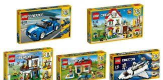 LEGO Creator sets zomer 2017