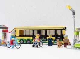 LEGO City 60154 Bus station
