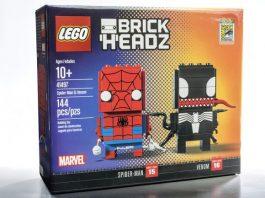 LEGO BrickHeadz 41497 Spider-Man & Venom