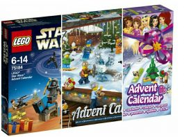 Officiële HD Visuals LEGO Advent Calendars 2017