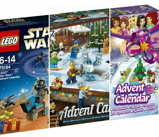 Officiële HD Visuals LEGO Advent Calendars 2017