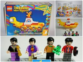 LEGO Ideas 21306 Beatles Yellow Submarine