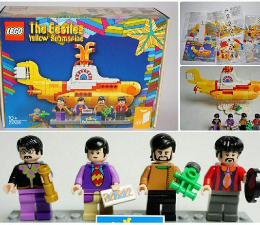 LEGO Ideas 21306 Beatles Yellow Submarine