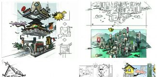 LEGO Ninjago Movie 70620 Ninjago City behind the scenes