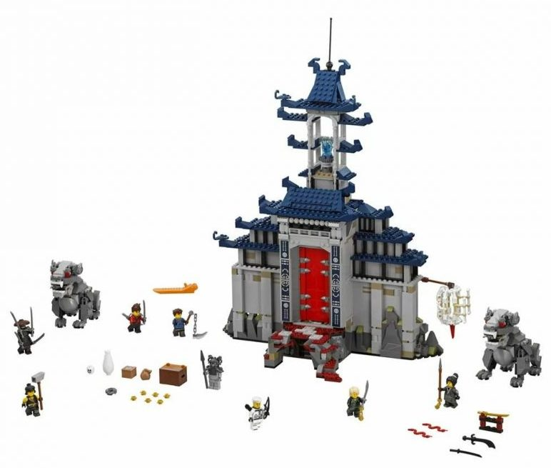 LEGO Ninjago Movie 70617 Temple of the Ultimate