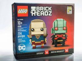 LEGO BrickHeadz 41496 Supergirl & Martian Manhunter