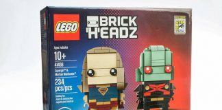 LEGO BrickHeadz 41496 Supergirl & Martian Manhunter