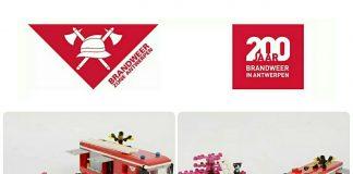 LEGO LCP 200 Jaar Brandweer Antwerpen