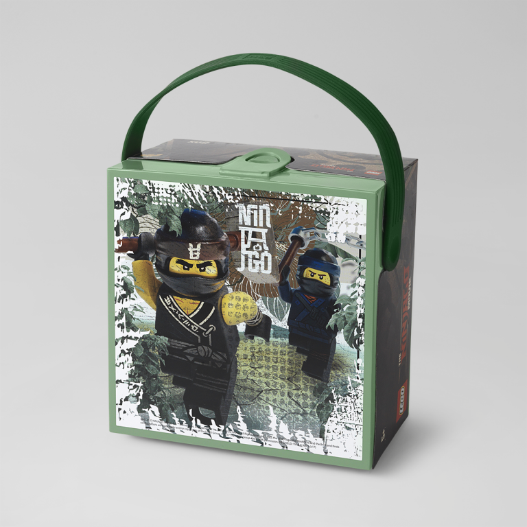 LEGO Ninjago Movie Box with Handle