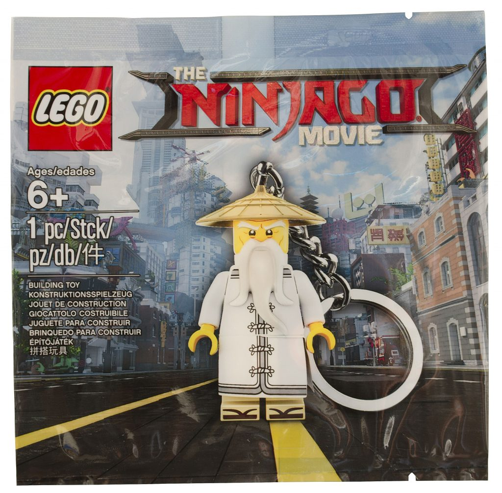 LEGO Ninjago Movie 5004915 Wu Key Chain