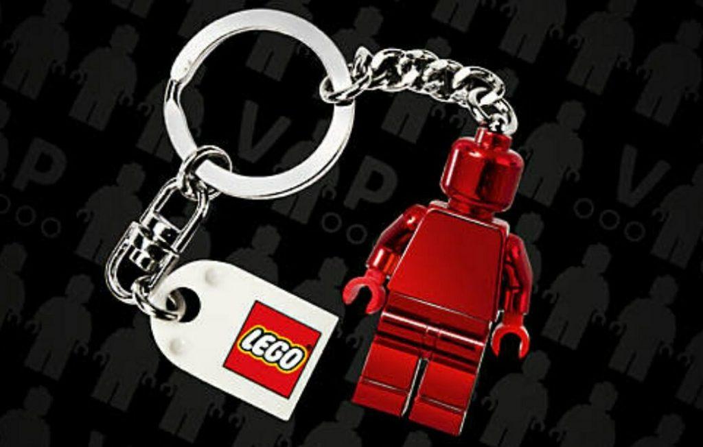 Gratis LEGO Vip Key Chain bij nieuwe LEGO Vip aanmeldingen