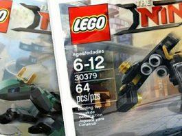 LEGO Ninjago Movie 30428 Green Ninjago Mech Dragon & LEGO Ninjago Movie 30379 Quake Mech