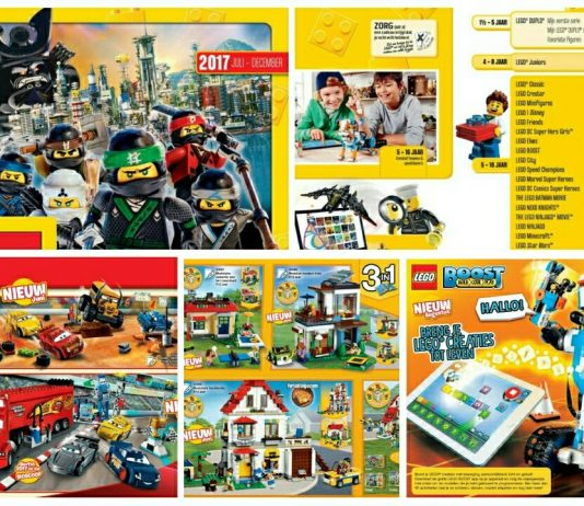 LEGO Catalogus 2H 2017