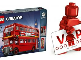LEGO Creator 10258 London Bus LEGO Vip Early Access