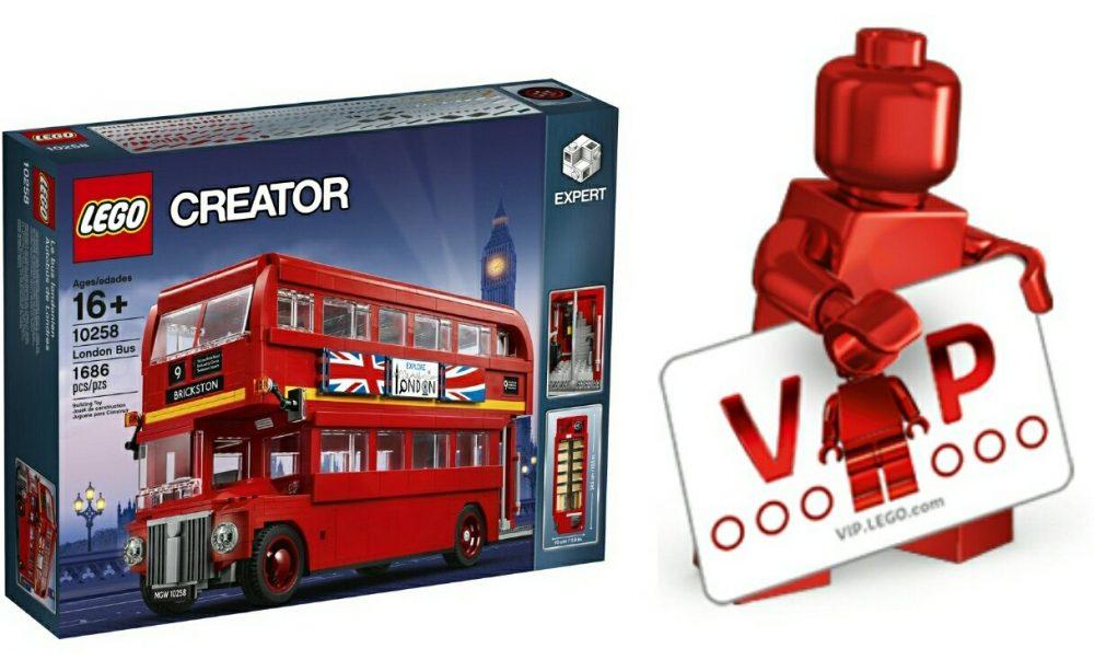 LEGO Creator 10258 London Bus LEGO Vip Early Access - Bouwsteentjes.info
