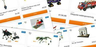 Nieuwe LEGO sets verkrijgbaar
