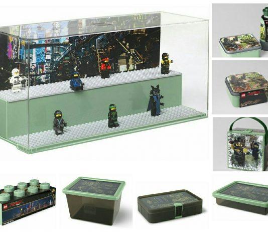 LEGO Ninjago Movie accessoires en opbergsystemen