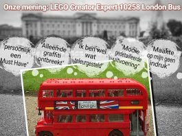 Onze Mening LEGO Creator Expert 10258 London Bus