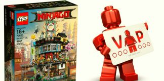 LEGO Ninjago Movie 70620 Ninjago City Vip Early Access