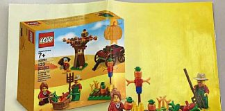 LEGO 40261 Thanksgiving Seasonal