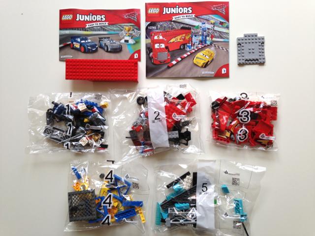LEGO Juniors 10745 Florida 500 Final Race